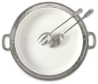 Match Convivio Round Casserole Platter with Handles