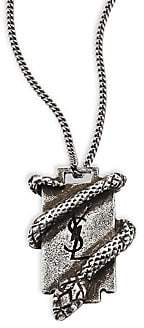 Saint Laurent Women's Razor Blade Pendant Necklace