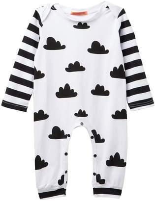 Funkyberry Cloud & Stripe Jumper (Baby Girls)