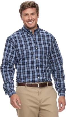Izod Big & Tall Premium Essentials Classic-Fit Stretch Button-Down Shirt