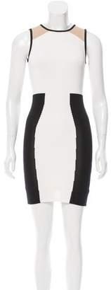Torn By Ronny Kobo Colorblock Mini Dress w/ Tags
