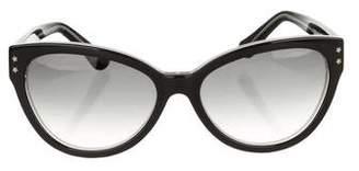Cat Eye Cutler and Gross Cat-Eye Gradient Sunglasses