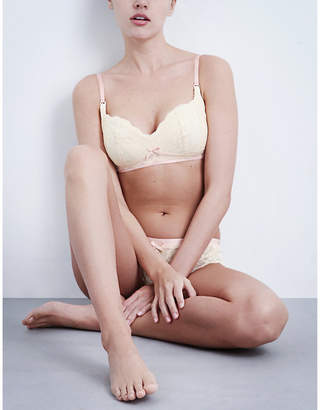 Heidi Klum Intimates Madeline lace maternity bra
