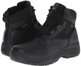 Timberland 6 Valortm Duty Soft Toe Waterproof Side-Zip Men's Work Lace-up Boots