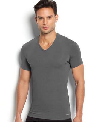 Calvin Klein Men Underwear Body Modal V-Neck Undershirt U5563
