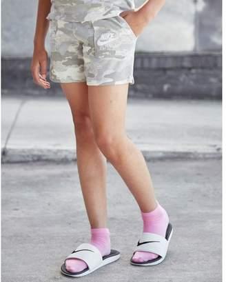 Nike Girls' Gym Camo Shorts Junior