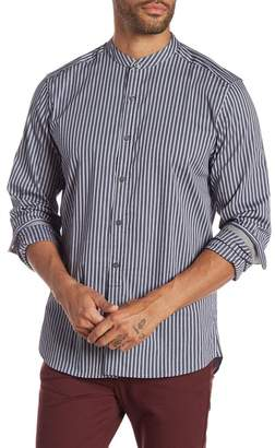 Kenneth Cole New York Mock Neck Regular Fit Shirt