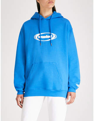 Wasted Paris Ring logo-print cotton-jersey hoody