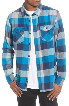 Vans Box Button-Up Flannel Shirt