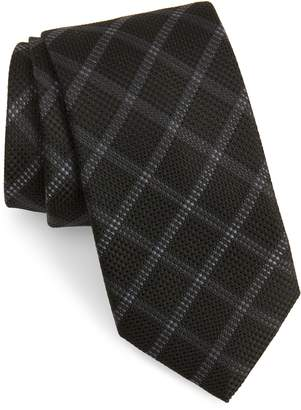 Calibrate Fetter Plaid Silk Tie