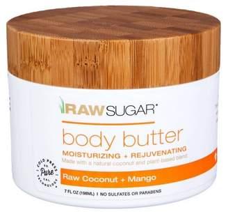 Butter Shoes Raw Sugar Raw Coconut And Mango Body 7 fl oz