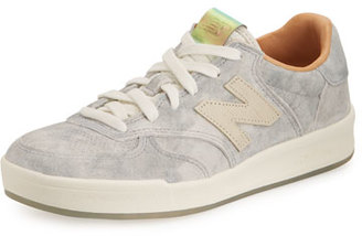New Balance 300 Acid Wash Low-Top Sneaker, Gray $119.95 thestylecure.com