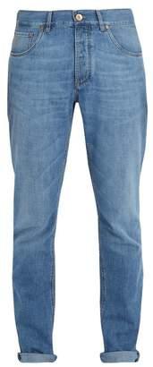 Brunello Cucinelli Mid-rise slim-leg jeans