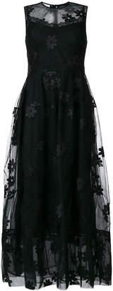 Simone Rocha floral appliqué dress