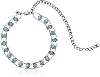 Rebecca Minkoff Opal Illusions Choker Necklace