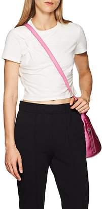 Alexander Wang Women's Twisted Cotton Crop T-Shirt