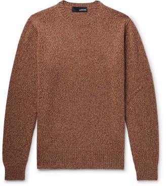 Lardini Slim-Fit Mélange Wool Sweater
