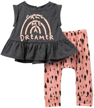 4b1043abe80e9 Jessica Simpson Good Day Top & Pants Set (Baby Girls)