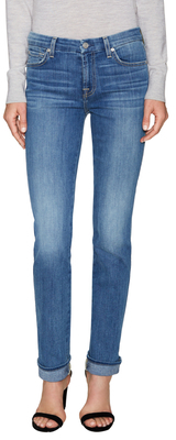 7 For All Mankind Karah Cotton Straight Jean