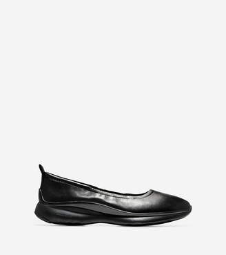 Cole Haan Women's 3.ZERØGRAND Ruched Slip-On Ballet Flat