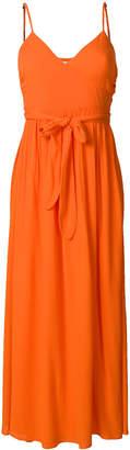 Mara Hoffman tie waist long beach dress
