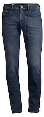 Diesel Men's Thommer Mid-Rise Slim-Fit Stretch Jeans