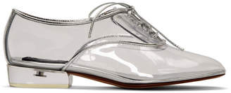 Marc Jacobs Transparent Clear Heel Oxfords