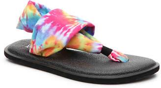 Sanuk Lil Yoga Sling Tie Dye Youth Sandal - Girl's