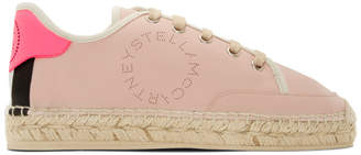 Stella McCartney Pink Sneaker Espadrilles