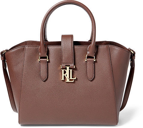 Ralph Lauren Lauren Pebble Leather Bethany Shopper