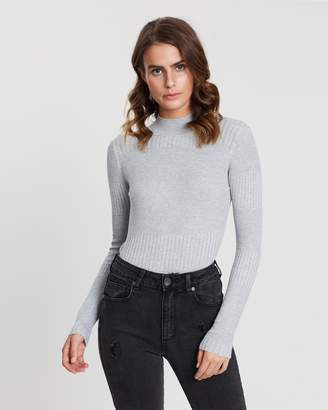 Cotton On Quinny Variegated Long Sleeve Knit