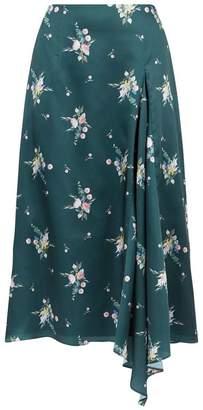 Ted Baker Anabell Floral Asymmetric Skirt