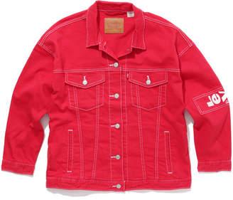 Levi's (リーバイス) - LAZY TAB トラッカージャケット RED DENIM