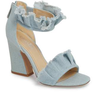 Charles by Charles David Haley Ruffle Sandal