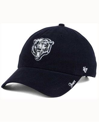 '47 Brand Women's Chicago Bears Glitter Logo Clean Up Cap $25.99 thestylecure.com