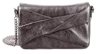 Halston Metallic Leather Crpssbody Bag w/ Tags
