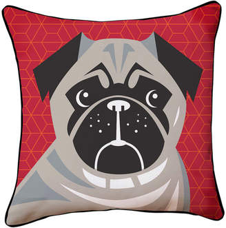 Naked Decor Pug Pop Art Pillow