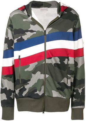 Moncler camouflage hoodie