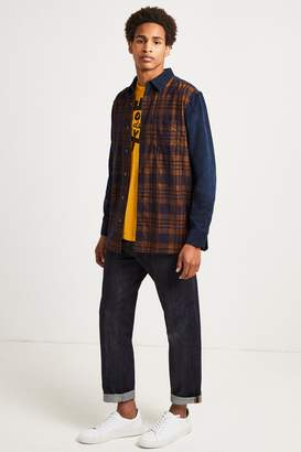 French Connenction Overdyed Corduroy Mix Shirt