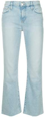 Current/Elliott flared cropped jeans