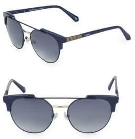 Balmain 53MM Clubmaster Sunglasses