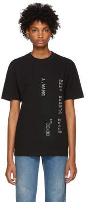 Alexander Wang Black Credit Card T-Shirt