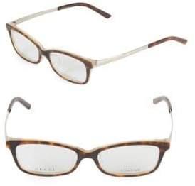 Gucci 53MM Rectangular Optical Glasses