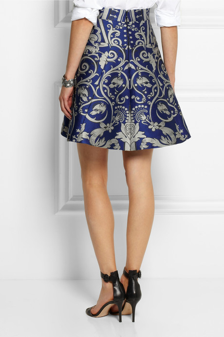 Temperley London Isadora jacquard mini skirt