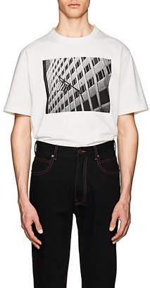 "Calvin Klein Men's ""American Flag"" Cotton T-Shirt - White"