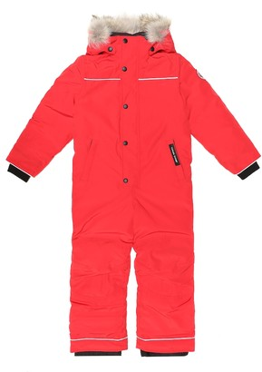 Canada Goose Kids Grizzly down ski suit