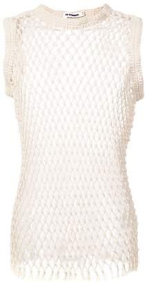 Jil Sander mesh knit vest