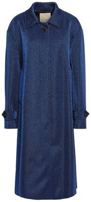Marco De Vincenzo Metallic Jersey Coat