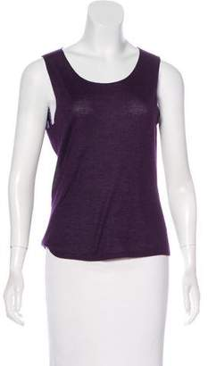 Loro Piana Cashmere Sleeveless Top