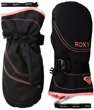 Roxy Jetty Solid Girl Mitt Extreme Cold Weather Gloves